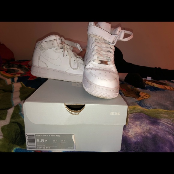 Nike Shoes   Air Force Boys Youth Size